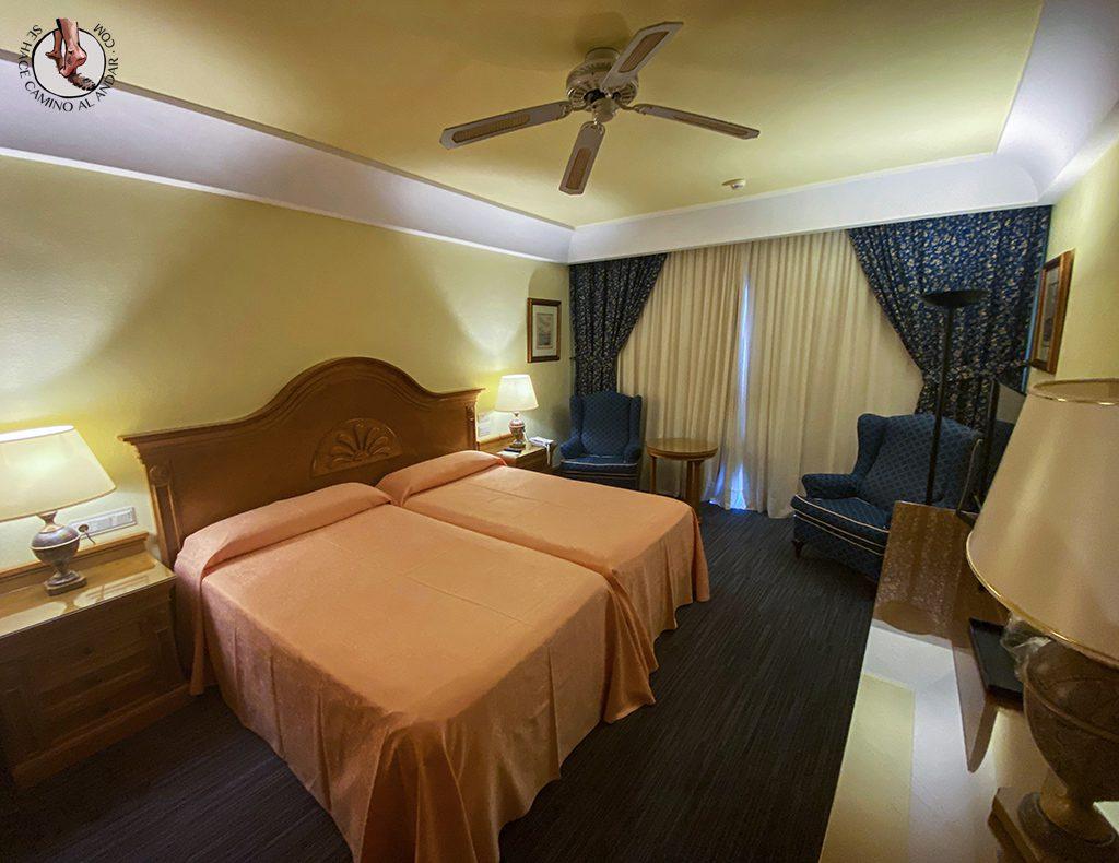 Dormir en Gran Canaria riu maspalomas habitacion