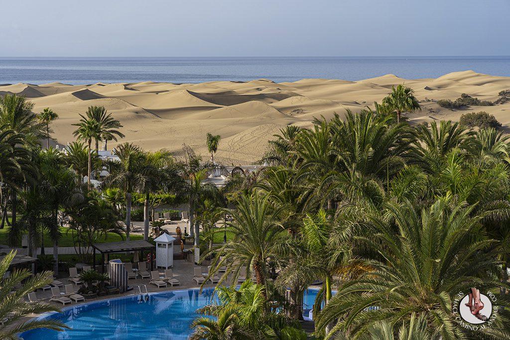 Dormir en Gran Canaria: hotel con vistas a las dunas de Maspalomas