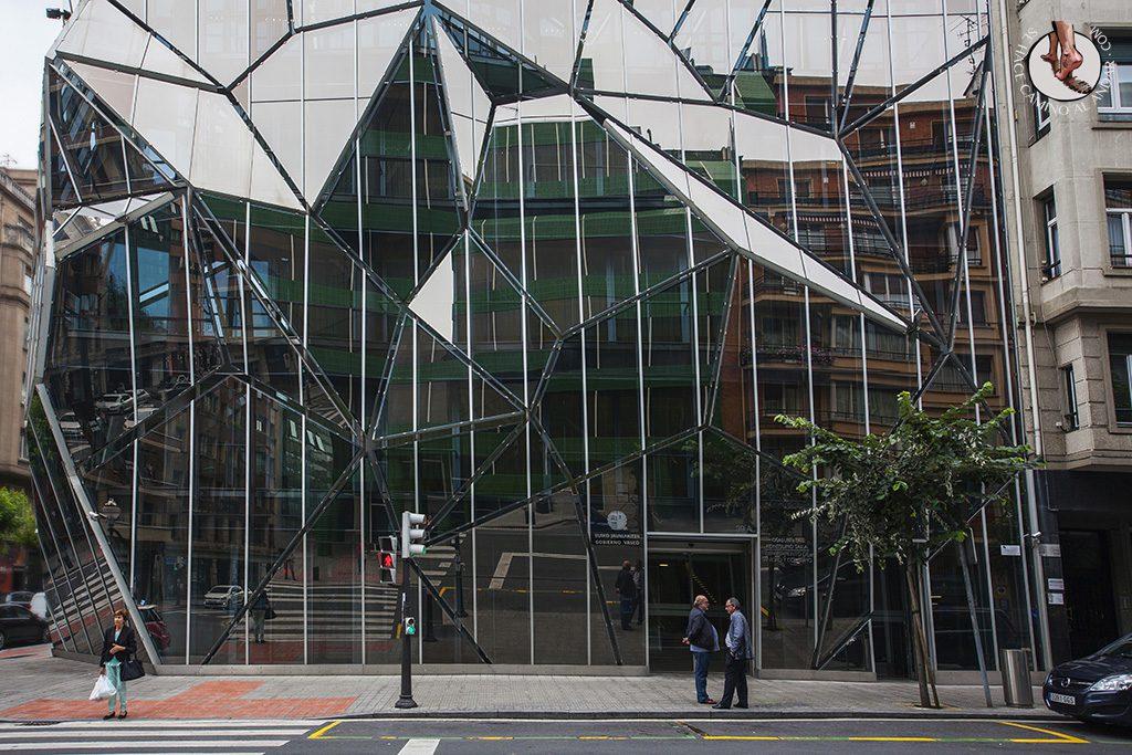 Edificio Sanidad Gobierno Vasco