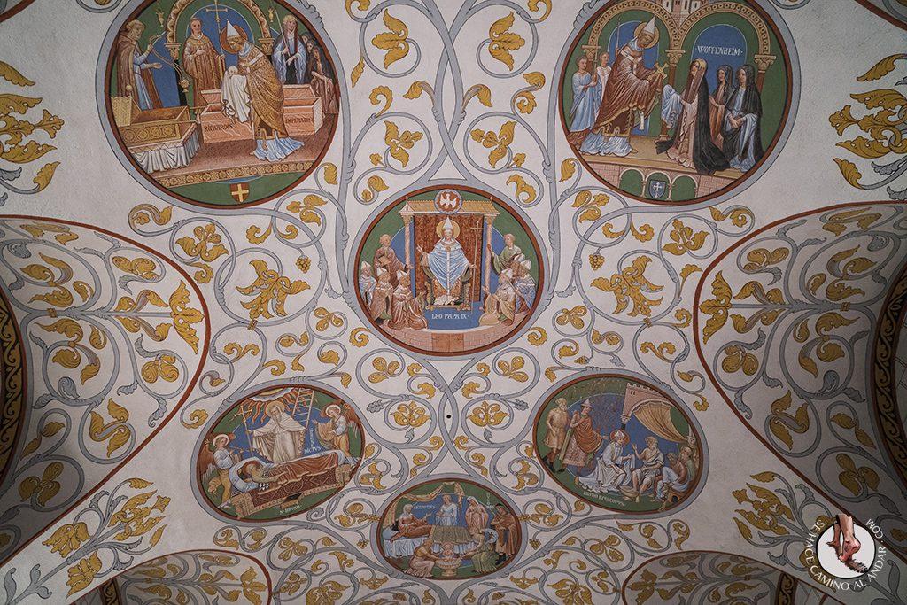 Eguisheim castillo techo