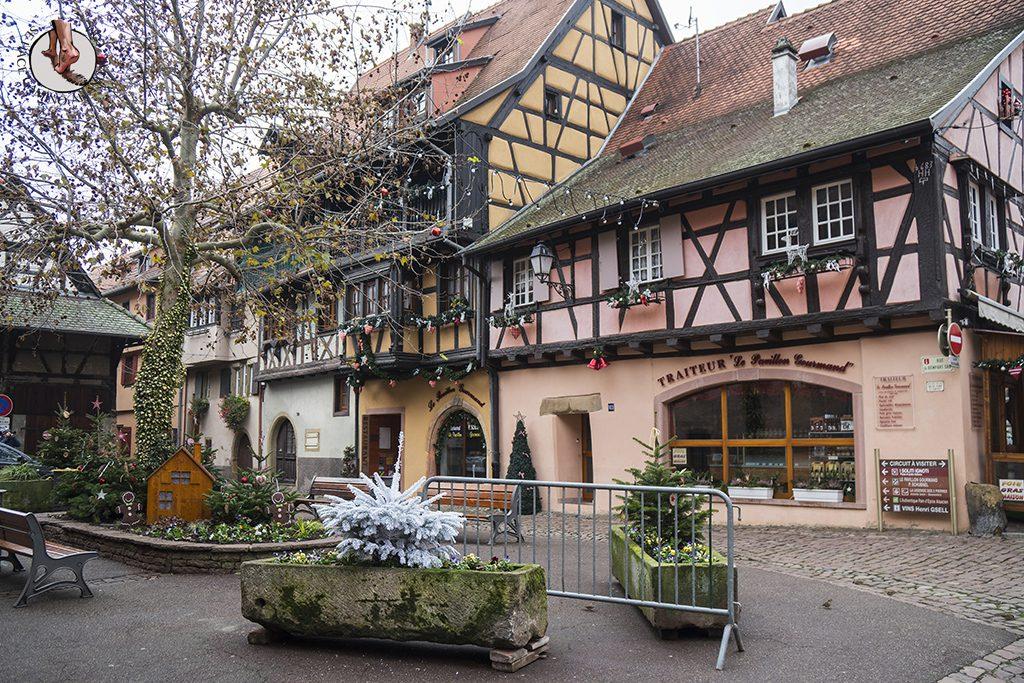 Eguisheim decoración navidad