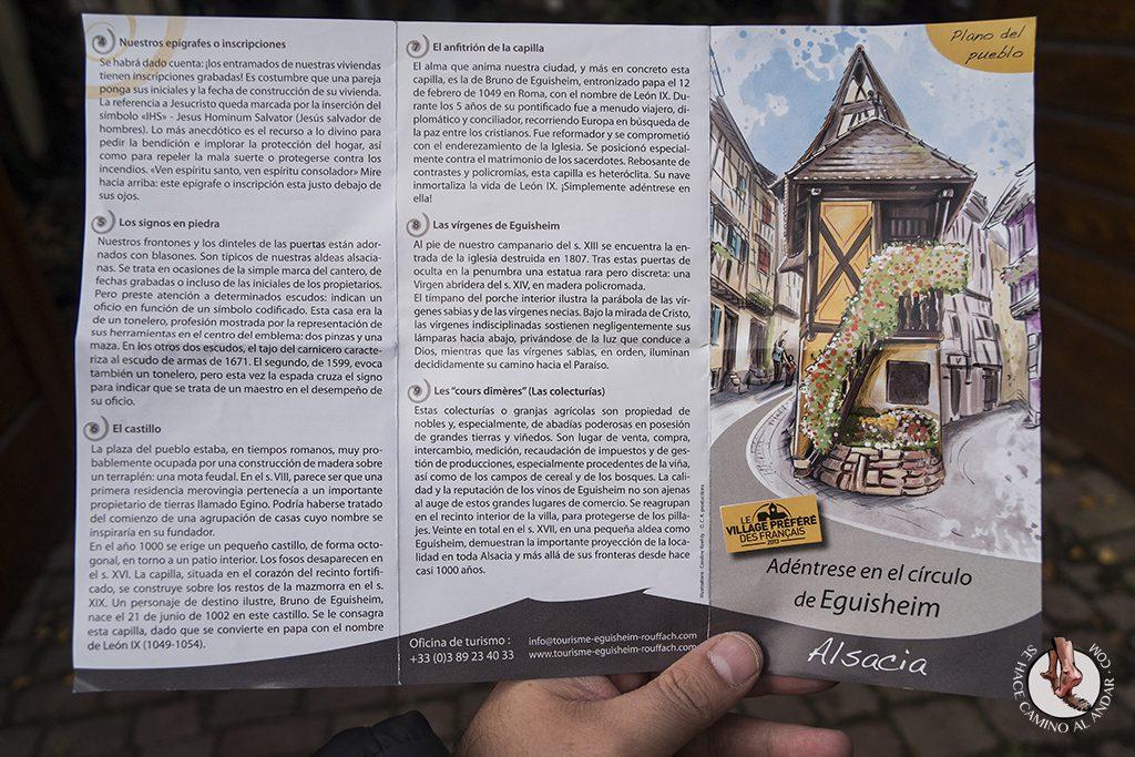 Eguisheim plano turismo