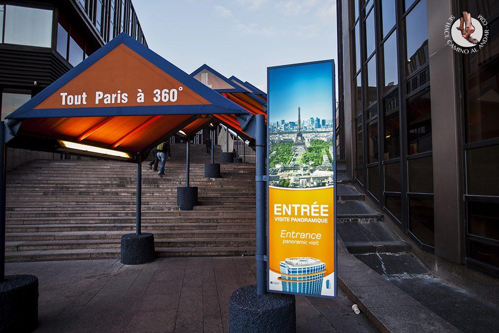 Entrada Torre Montparnasse