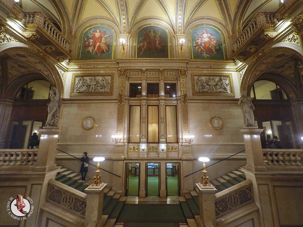Escalera Opera Viena