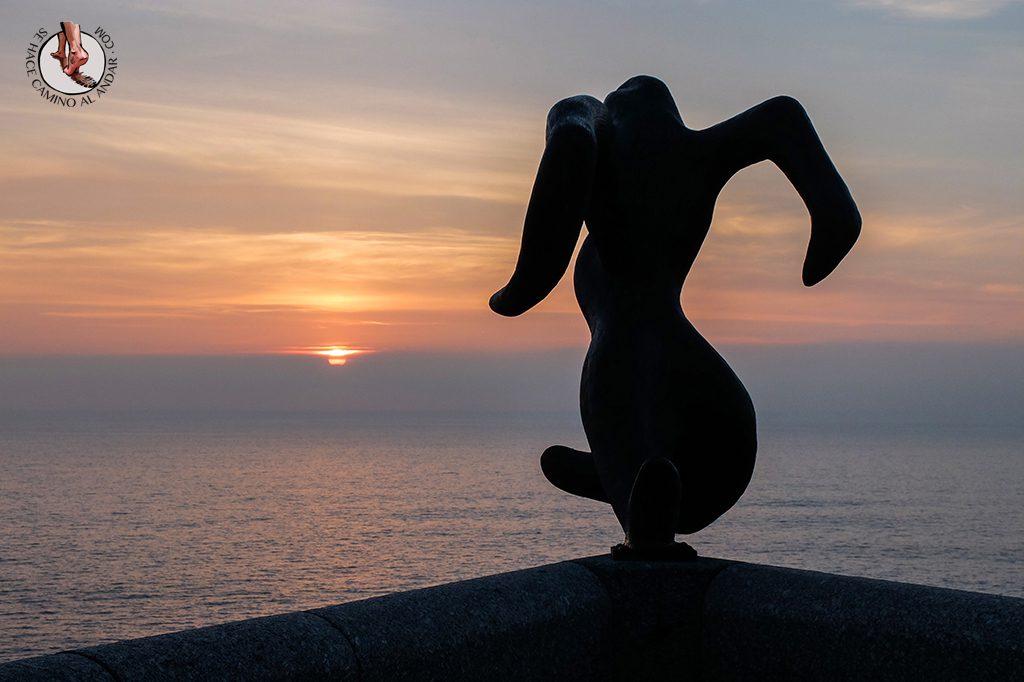Escultura Faro Punta Nariga