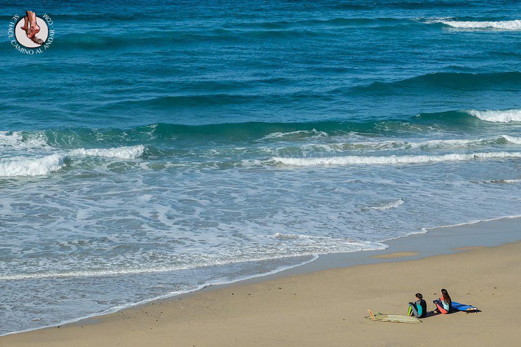 Espera olas Costa da Morte Carballo