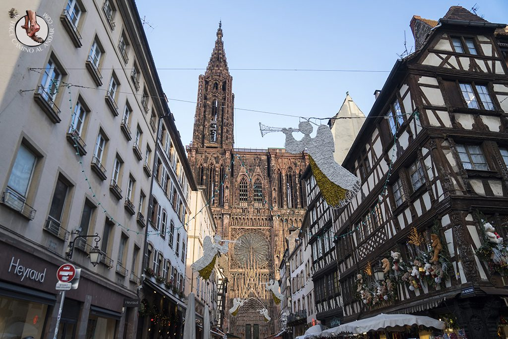 Estrasburgo Catedral decoracion exterior