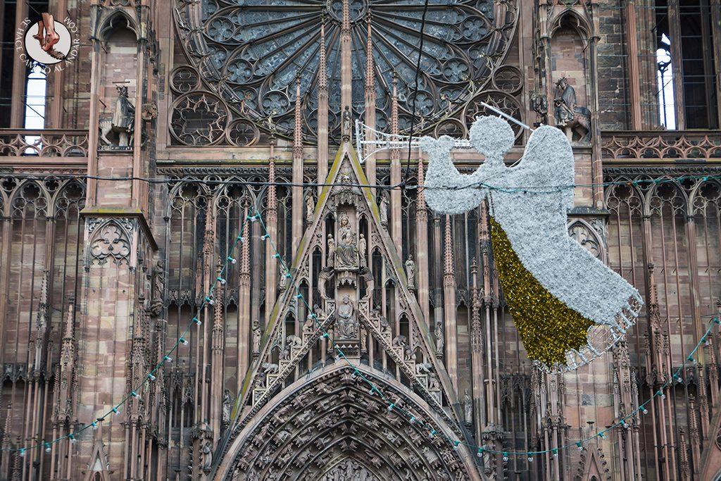 Estrasburgo Catedral decoracion navidad
