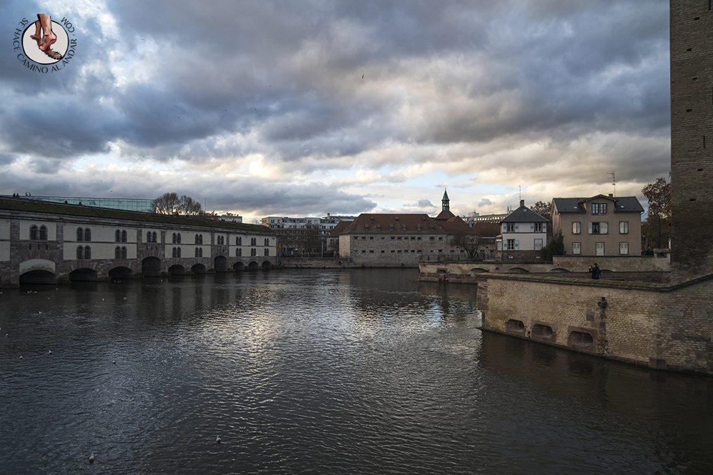 Estrasburgo Presa Vauban Puente Cubierto