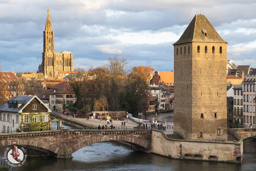 Estrasburgo Presa Vauban vistas terraza catedral