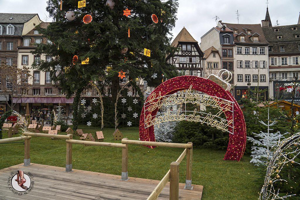 Estrasburgo capital navidad alsacia