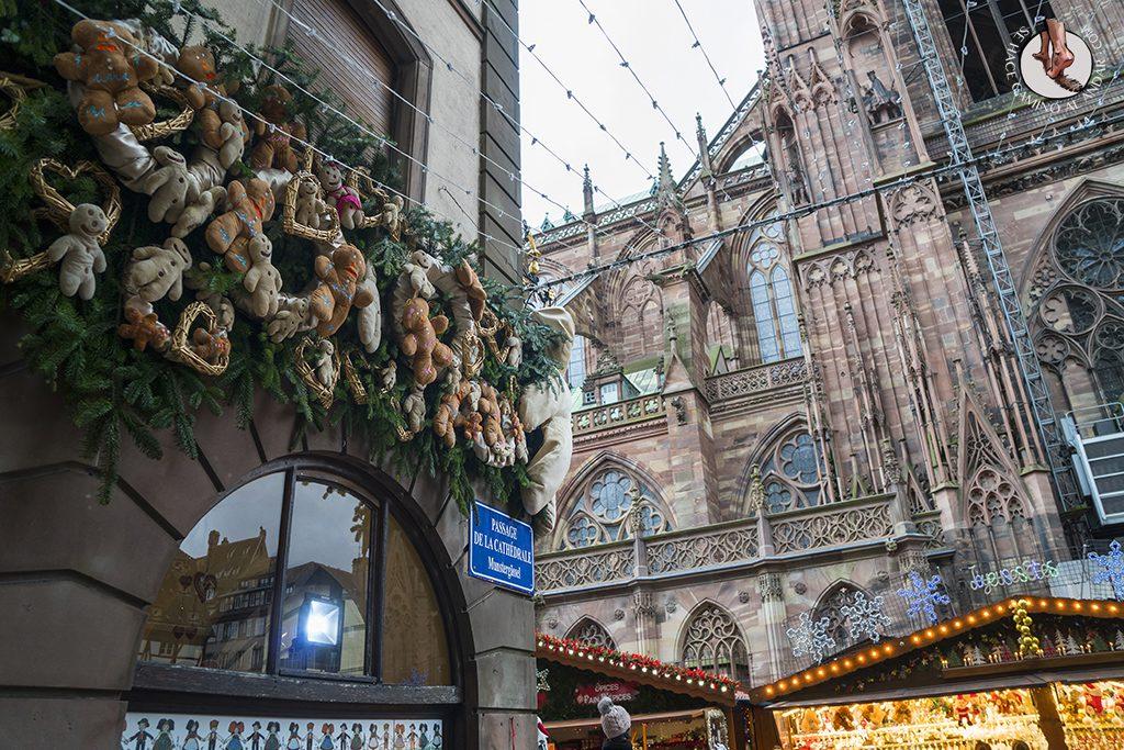 Estrasburgo mercado Christkindelsmarik catedral