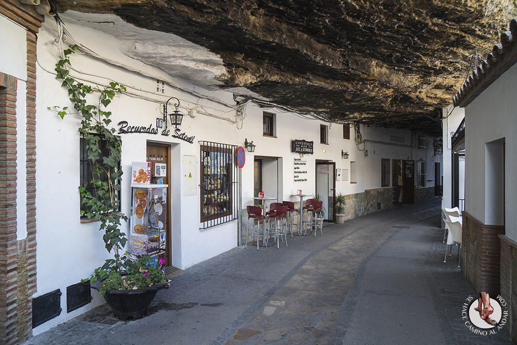 Exterior Cafeteria Sol y Sombra Setenil