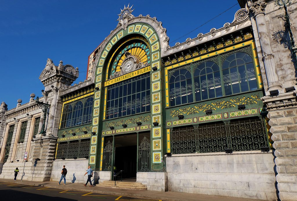 Bilbao, gare FEVE