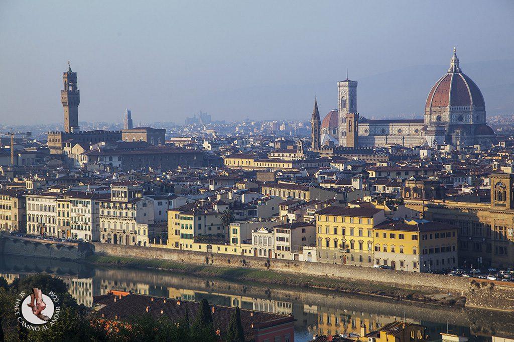 Florencia desde parque Michelangelo