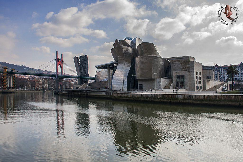 Foto postal Guggenheim Bilbao