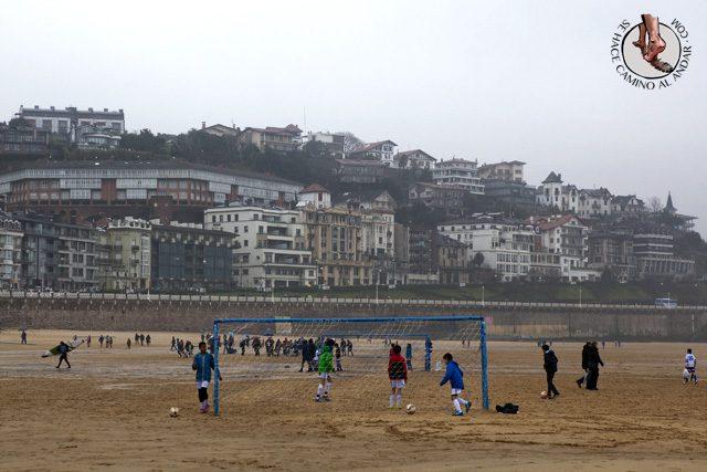 Futbol playa La Concha chalo84