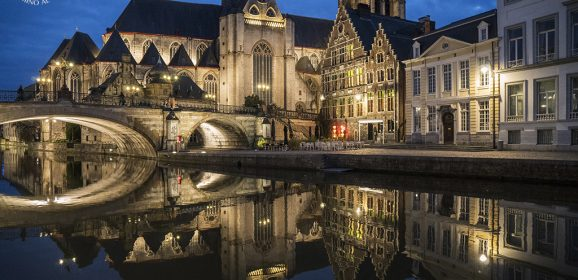 Gante, la ciudad belga de 3 torres medievales