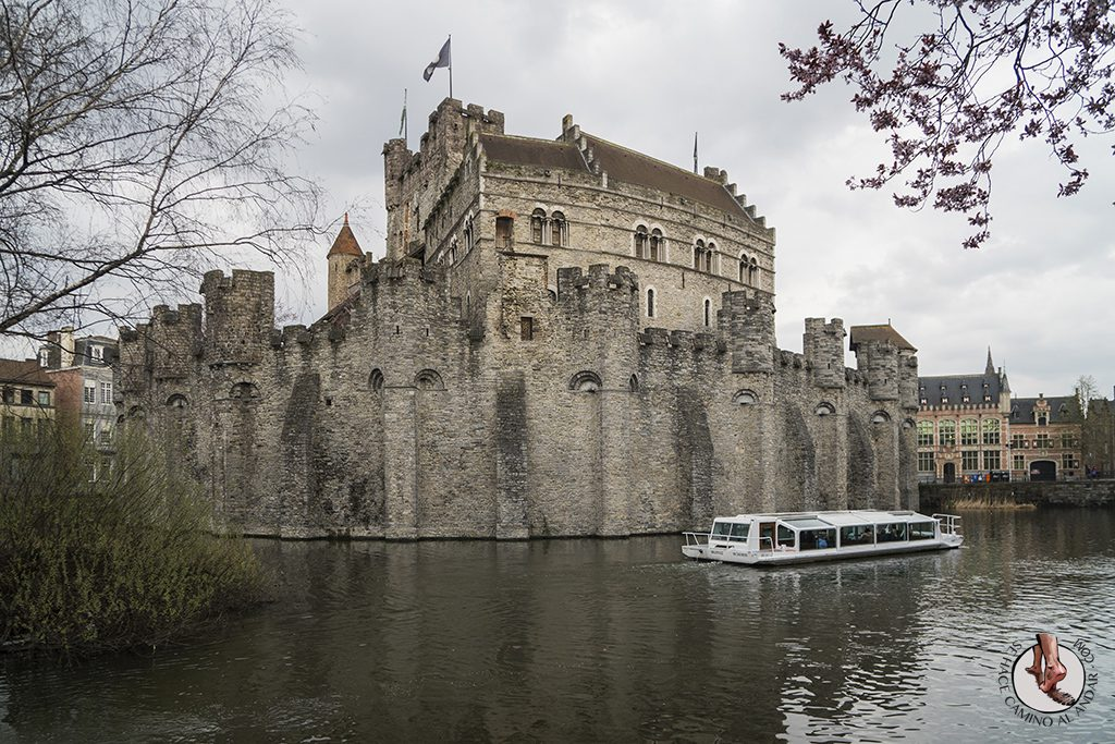Gante castillo condes flandes barco