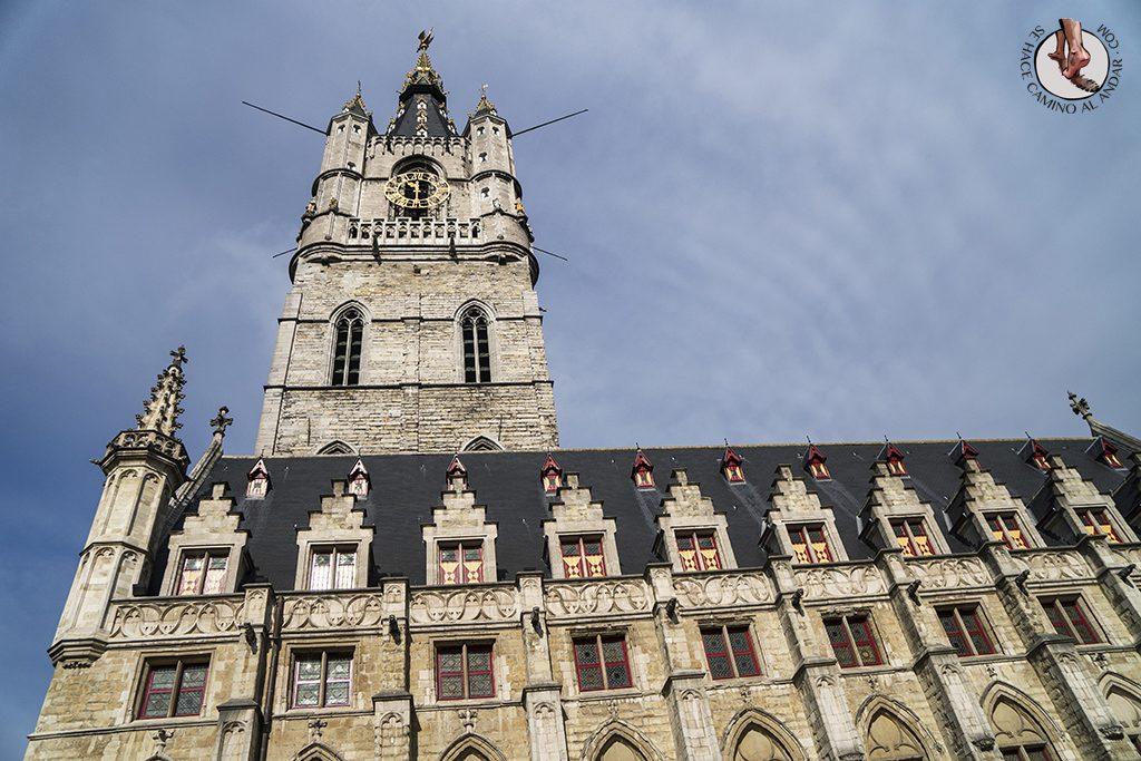 Gante torre Belfort