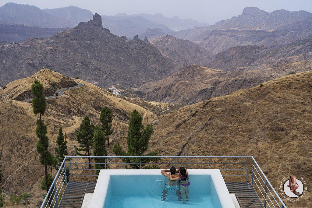 Gran Canaria tejeda parador piscina