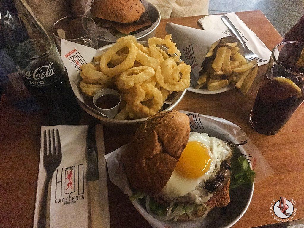 Hamburguesas de Madrid Cafeteria HD Eggburger