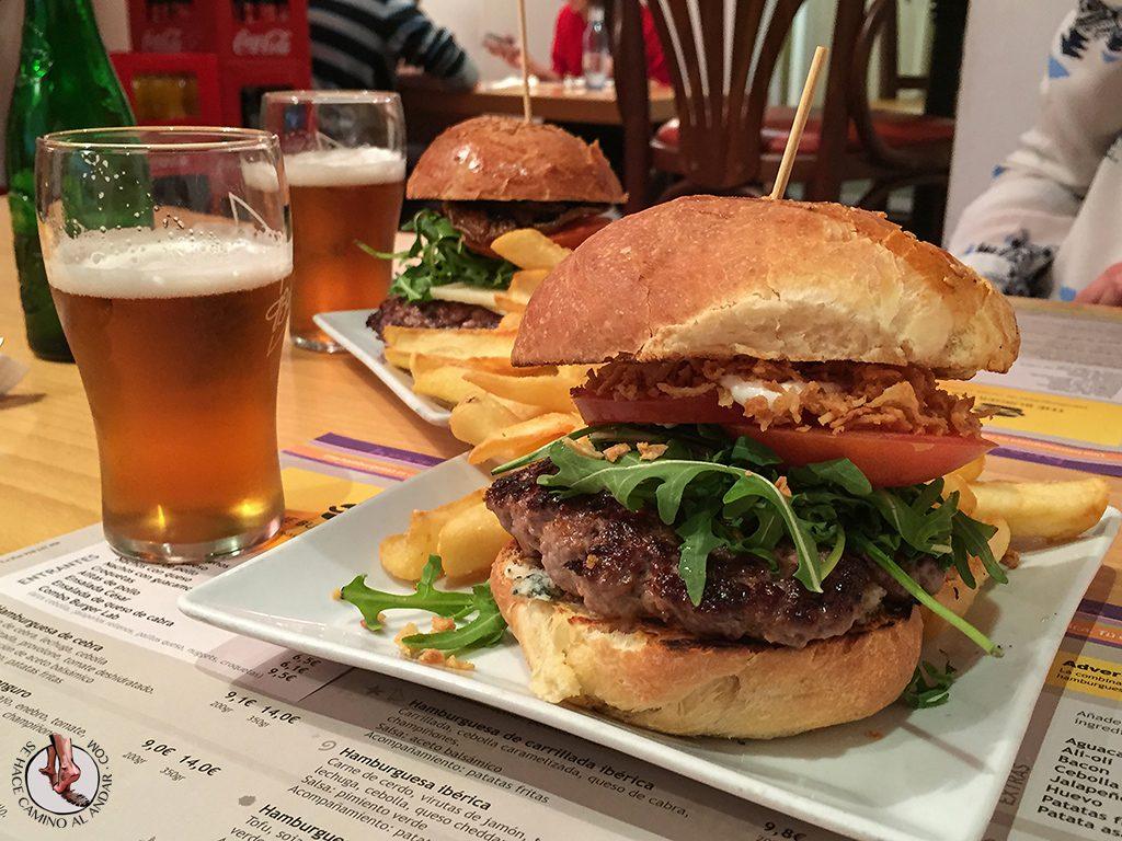 Hamburguesas de Madrid The Burger Lab queso cabra