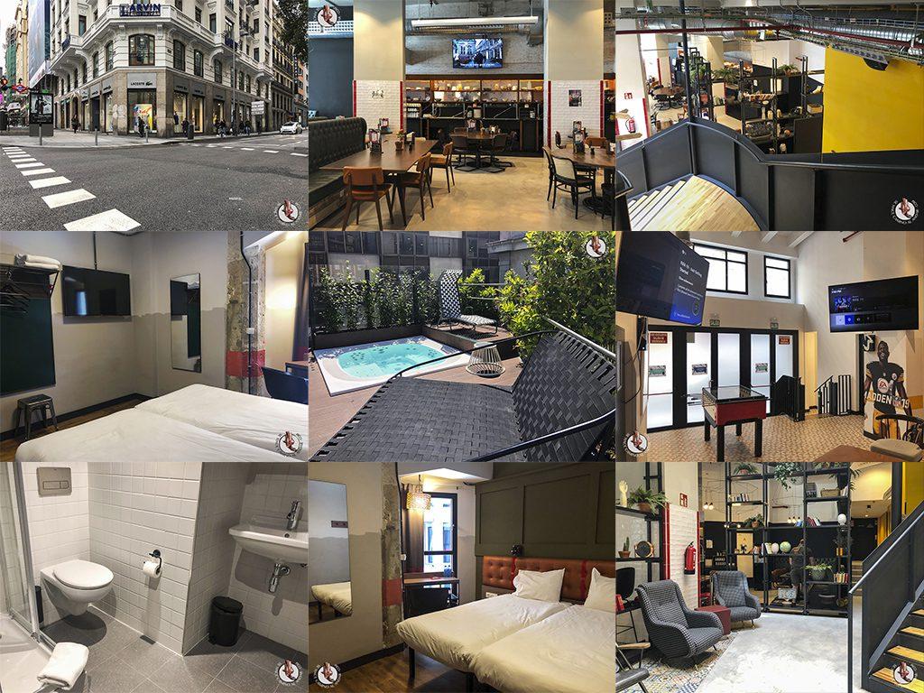 Hostel barato en Madrid Generator
