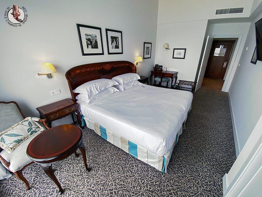 Hoteles San Sebastian Hotel de Londres y de Inglaterra habitacion