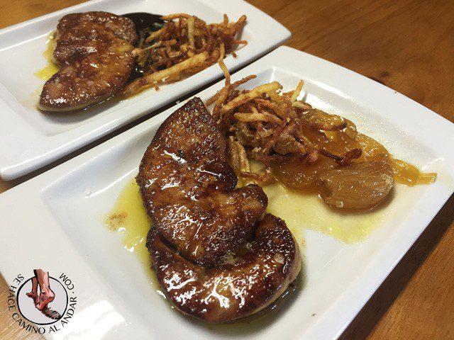IRAETA - Foie con txalota caramelizada