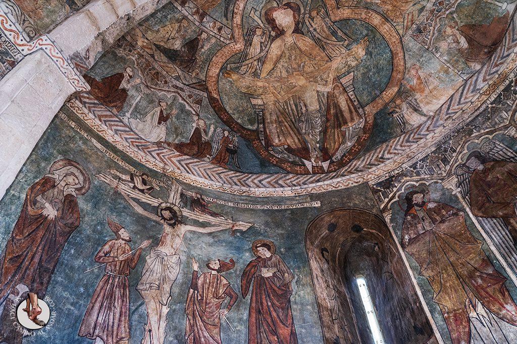 Iglesia San Martin Tours Gazeo pinturas altar