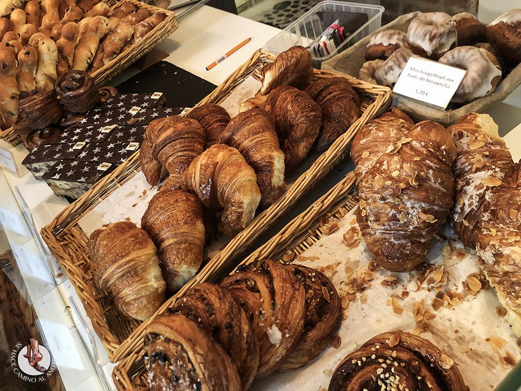 Kaysersberg cafeteria Lenfarine desayuno croassaint