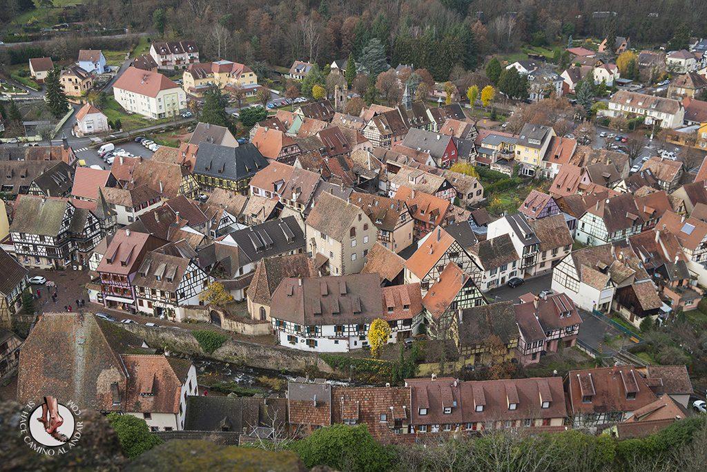 Kaysersberg castillo vistas