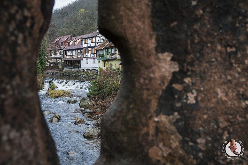 Kaysersberg puente rio weiss