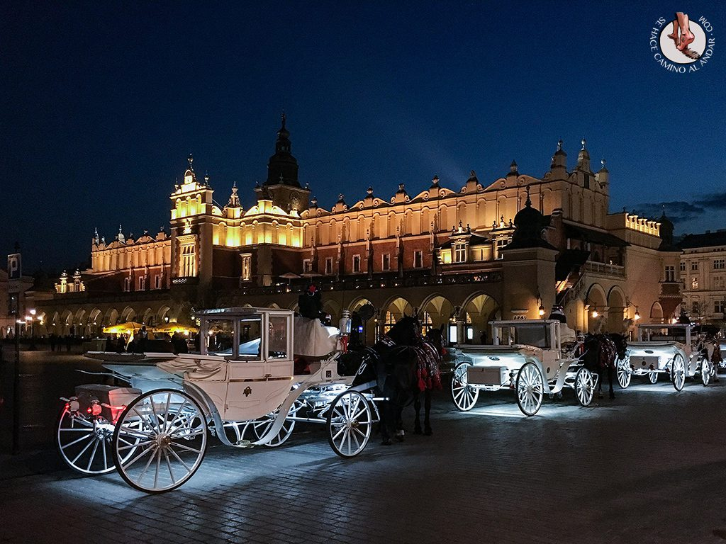 Lonja Paños Cracovia noche