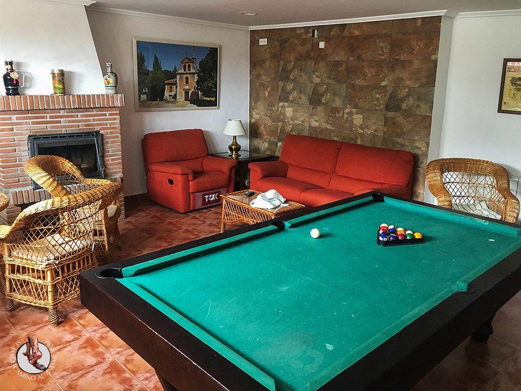 Los Nogales billar sofa