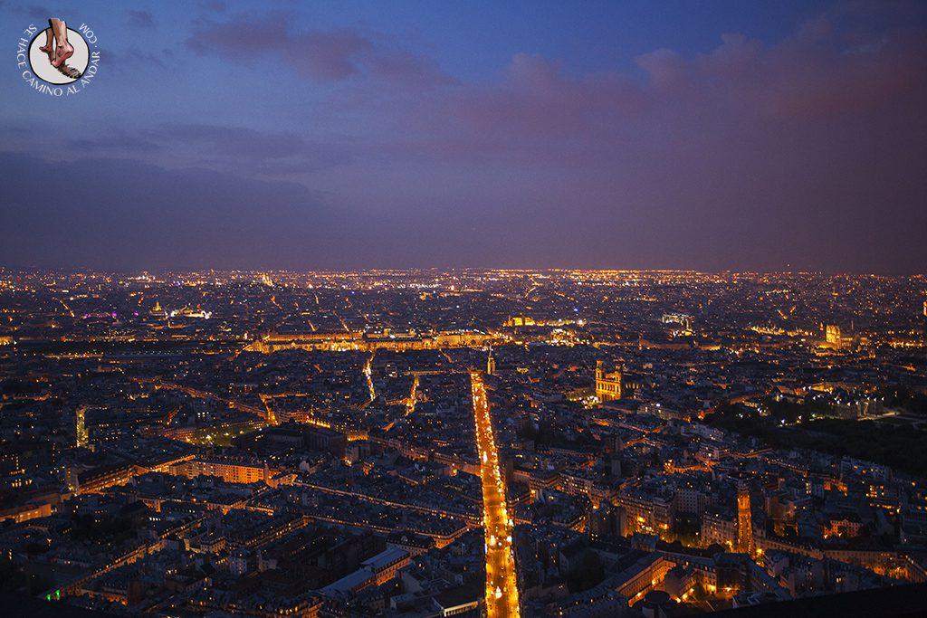Louve Montparnasse atardecer