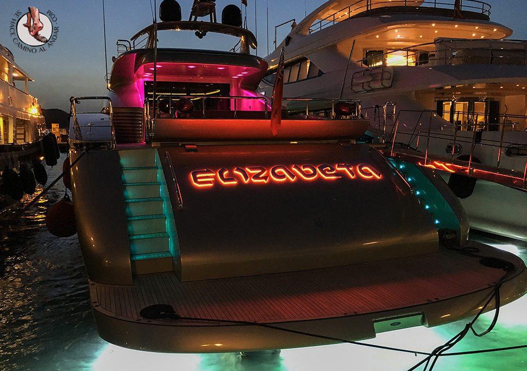 Lujo yate Ibiza Marina