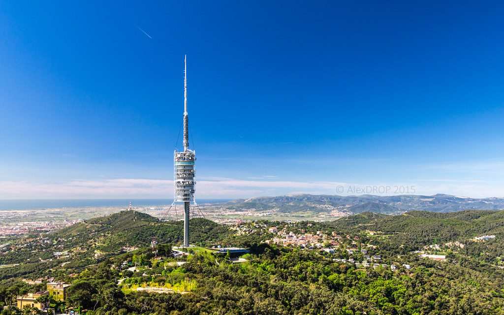 Miradores de Barcelona Torre de Collserola