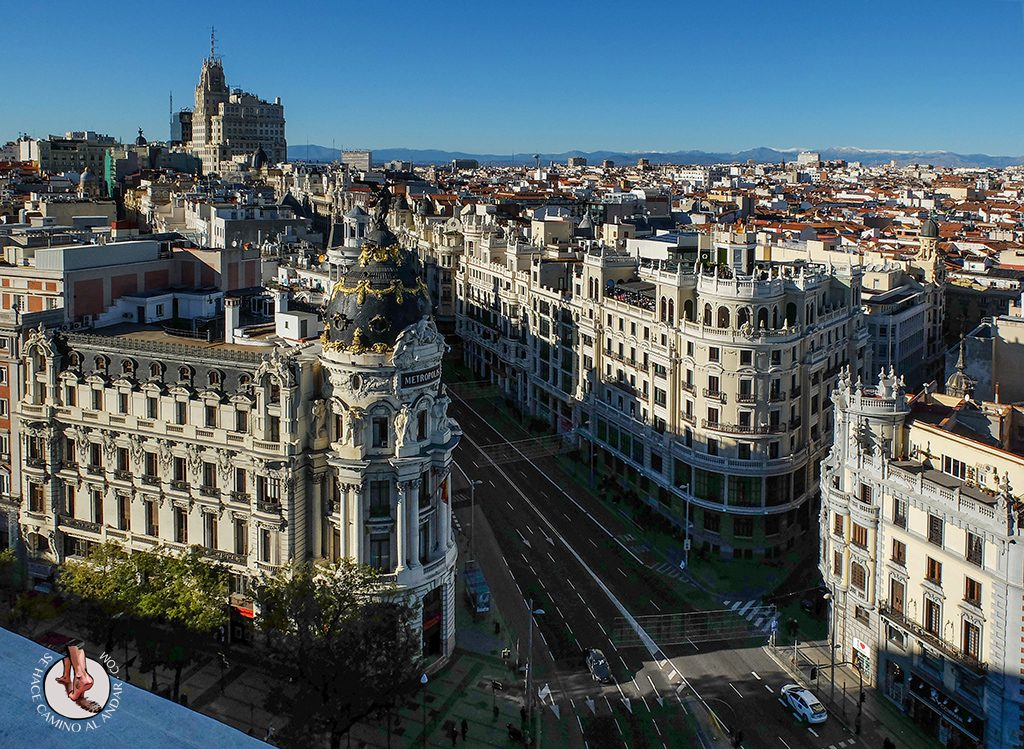 Miradores de Madrid Círculo Bellas Artes