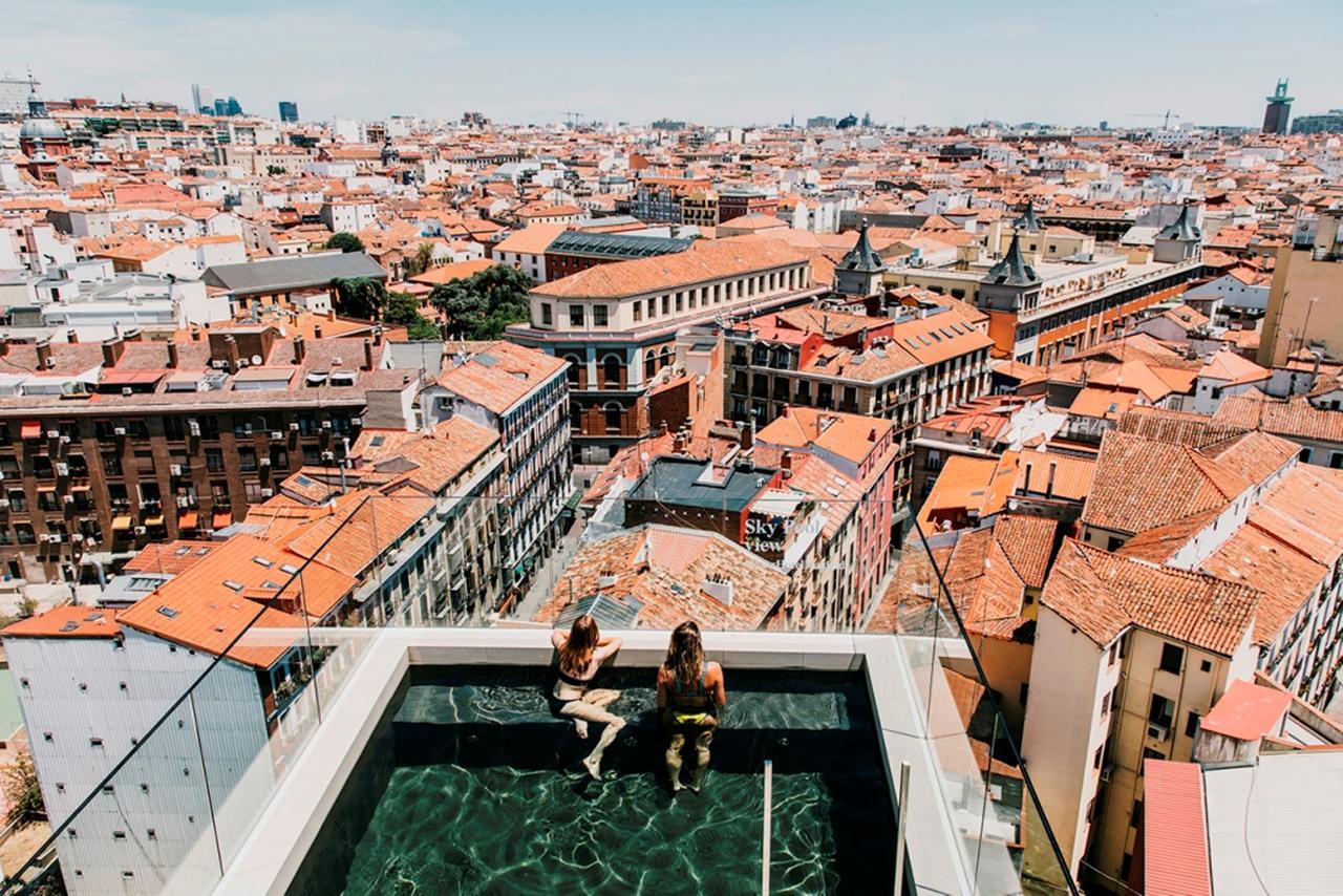 Miradores de Madrid Dear Hotel Madrid