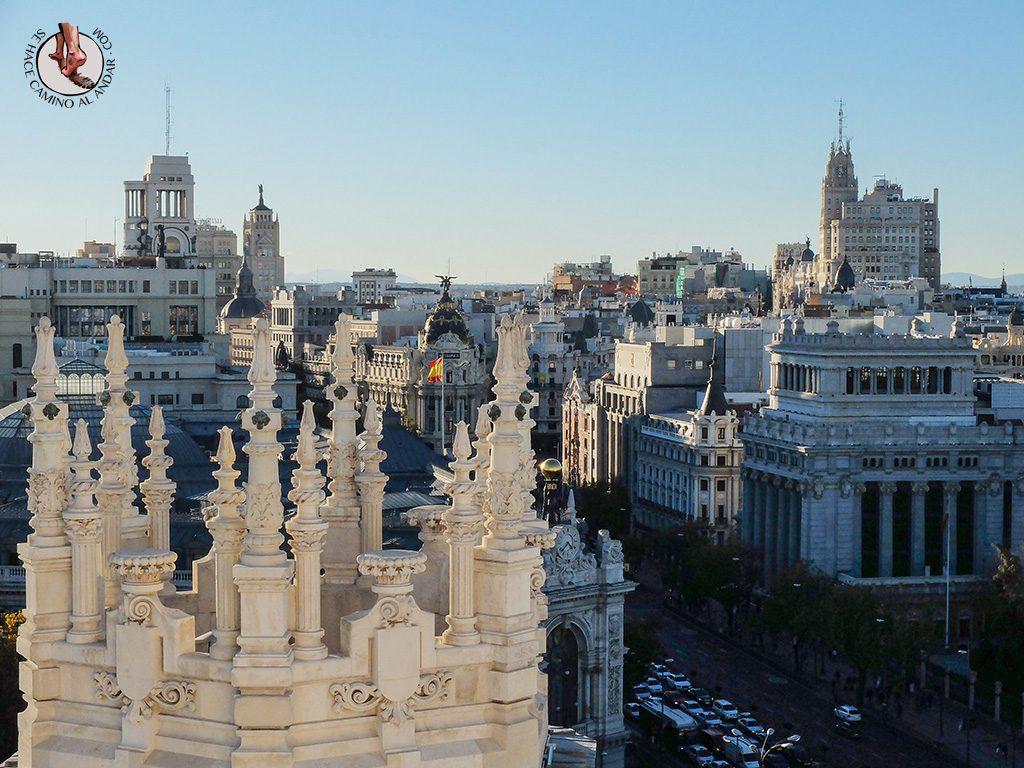Miradores de Madrid Palacio de Cibeles Ayuntamiento