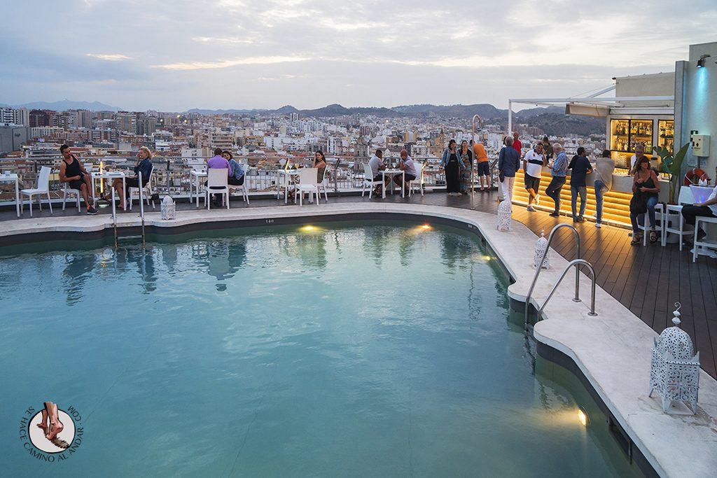 Miradores de Málaga AC Malaga Palacio piscina
