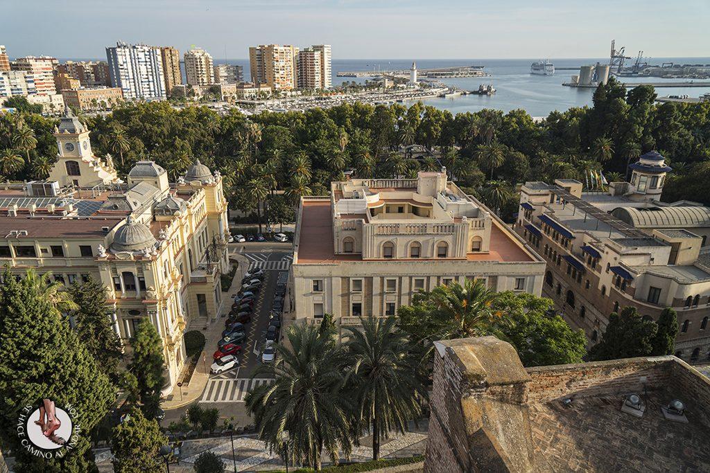 Miradores de Málaga Alcazaba Malagueta Ayuntamiento Banco Correos