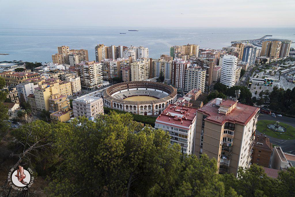Miradores de Málaga Mirador de Gibralfaro Malagueta