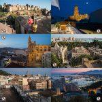 Miradores de Málaga: mejores vistas de la Catedral manquita (y Malagueta)