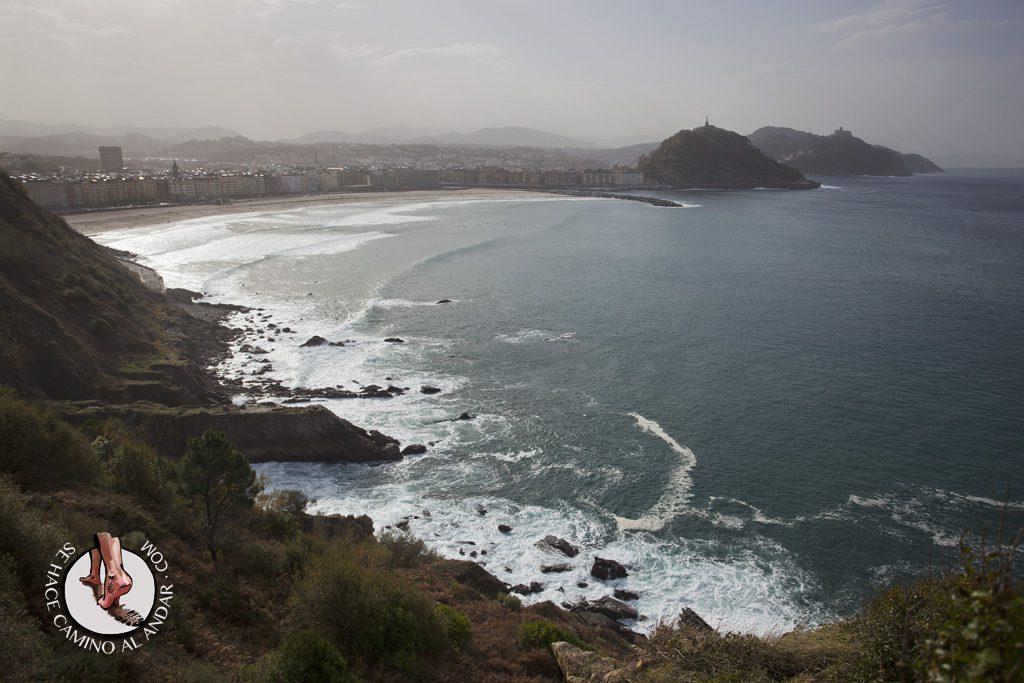 Miradores de San Sebastián Fuerte de Monpas Ulia