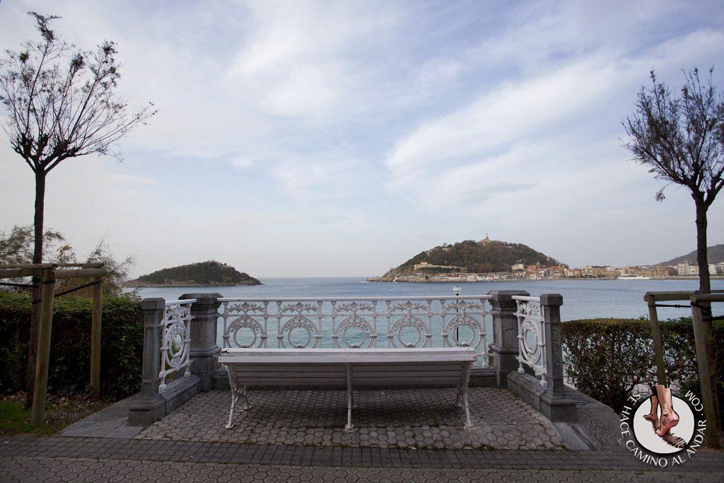 Miradores de San Sebastián Paseo Miramar