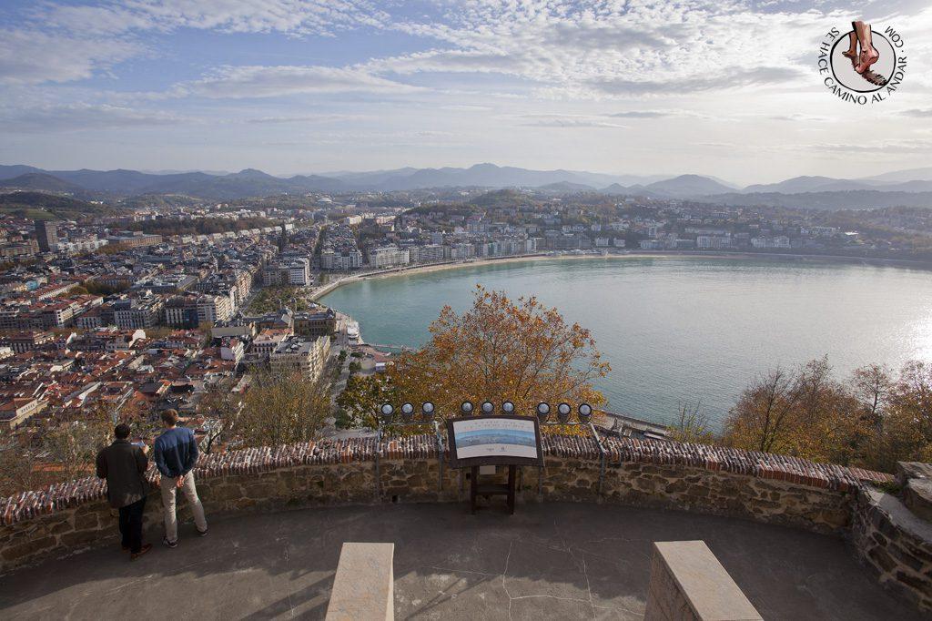 Miradores de San Sebastián Sagrado Corazon Urgull