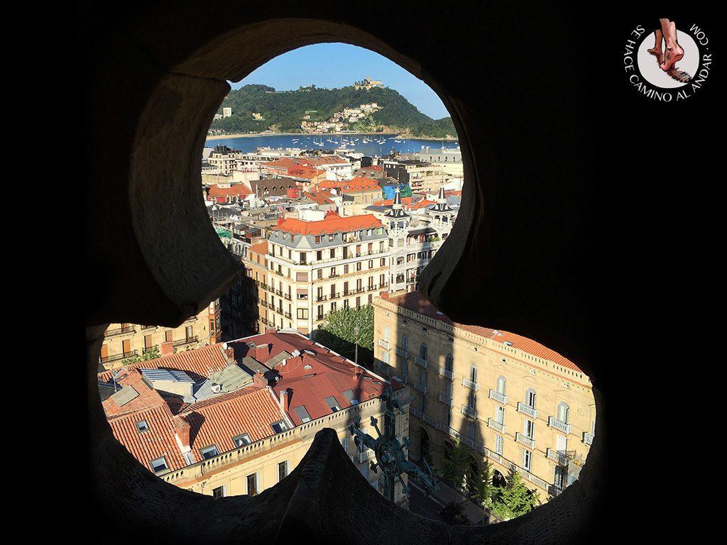 Miradores de San Sebastián Torre Catedral Buen Pastor